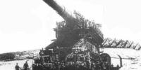 【動画】ドイツ陸軍の80cm巨大列車砲「グスタフ」