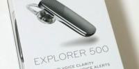 A2DP・AVRCP対応の片耳Bluetoothヘッドセット「Plantronics Explorer 500」レビュー