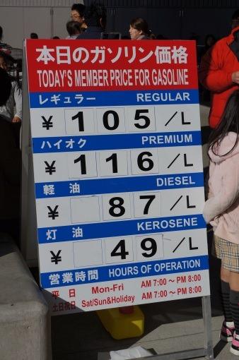 コストコのガソリン価格がめちゃくちゃ安いと聞いたので見てきた