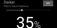 画面を最低輝度より暗くできるアプリ「Darker」が至極。暗い所で自動ONも