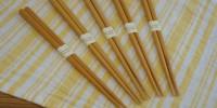 食洗機対応でシンプルおしゃれ。天然木の箸(はし)「Sugar Land Natural wood」